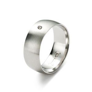 Slim Line Ring, Diamant Bild 1