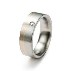 Golden Dream Ring, Diamant Bild 1