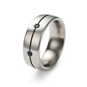 Symphony Ring, Blausaphire Bild 1