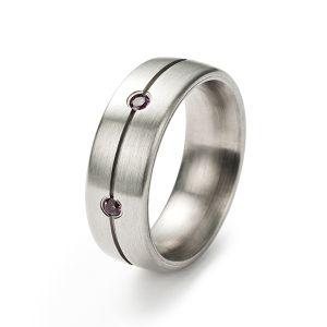 Symphony Ring, Rhodolithe Bild 1