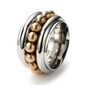 Sphere Ring, Gold Bild 1