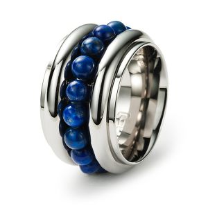 Sphere Ring, Lapislazuli Bild 1