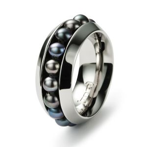 Sphere Ring, Süßwasserperle Bild 1