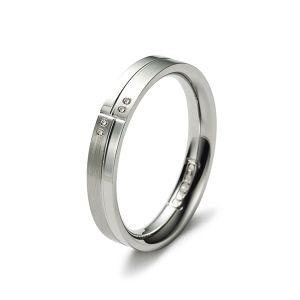 Slim Line Ring, Diamanten Bild 1
