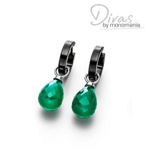 "Divas Ohrringset ""miraculous green Whitney"" Bild 1"