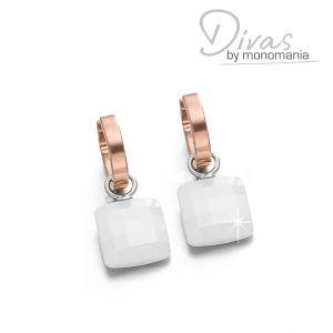 """Divas Ohrringset """"bright white Diana"""" Bild 1"""
