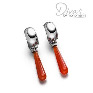 "Divas Ohrringset ""rosewood red Celine"" Bild 1"