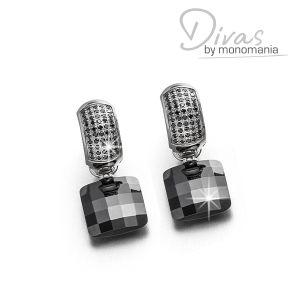 """Divas Ohrringset """"midnight black Diana"""" Bild 1"""