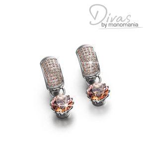 "Divas Ohrringset ""cozy peach Mariah"" Bild 1"