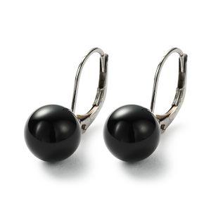 Sphere Ohrhänger, Onyx Bild 1