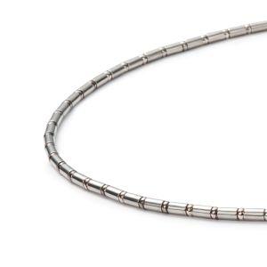 Sphere Röhrchenkette, Silber Bild 1