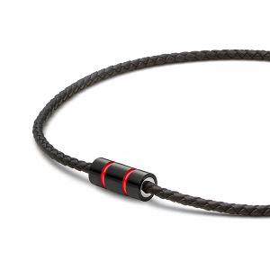 Racing Red Kette, Leder, schwarz Bild 1