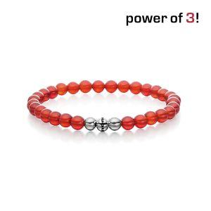 "Power of 3! Armband ""Vitalität"", Carneol Bild 1"