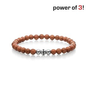 "Power of 3! Armband ""Leidenschaft"", Goldfluss Bild 1"