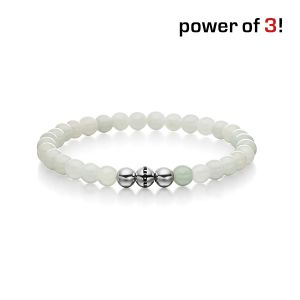 "Power of 3! Armband ""Innere Ruhe"", Jade Bild 1"