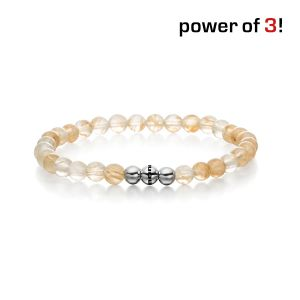 "Power of 3! Armband ""Klarheit"", Rutilquarz Bild 1"