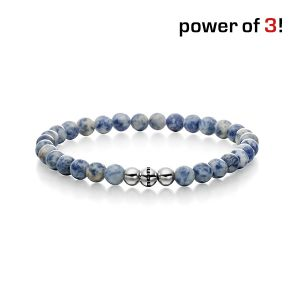 "Power of 3! Armband ""Selbstvertrauen"", Sodalith Bild 1"