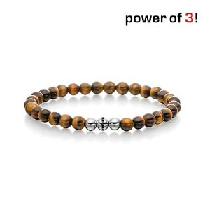 "Power of 3! Armband ""Konzentration"", Tigerauge Bild 1"
