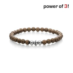 "Power of 3! Armband ""Aktives Leben"", Holz Bild 1"