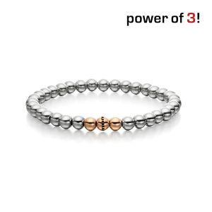 "Power of 3! Armband ""Klugheit"", Edelstahl Bild 1"