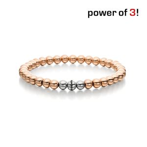 "Power of 3! Armband ""Sanftmut"", Edelstahl Bild 1"