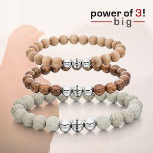 "Power of 3! big Armbänderset ""Nature"" Bild 1"