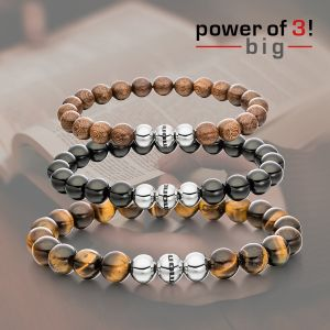 "Power of 3! big Armbänderset ""Time Out"" Bild 1"