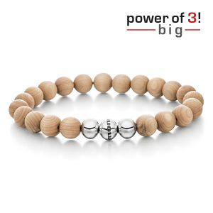 "Power of 3! big Armband ""Innere Wärme"", Ahornholz Bild 1"
