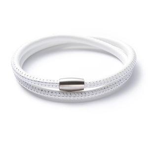 Armband, Leder, Magnetverschluss Bild 1