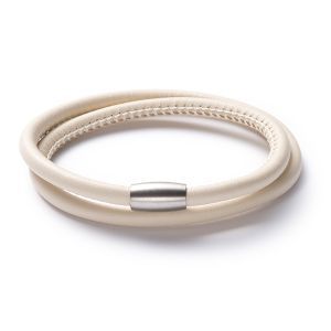 Friends Armband, Leder, creme Bild 1