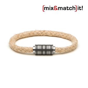 (mix&match)it! Armband, Hanf, natur Bild 1