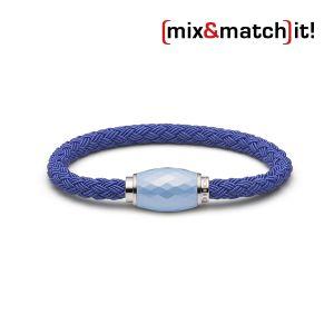 (mix&match)it! Armband, Textil, blau Bild 1