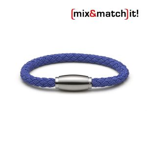 (mix&match)it! Armband, Textil, blau Bild 1