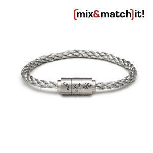 """(mix&match)it! Armband """"Zwillinge"""", Edelstahl Bild 1"""