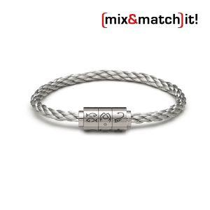"""(mix&match)it! Armband """"Krebs"""", Edelstahl Bild 1"""