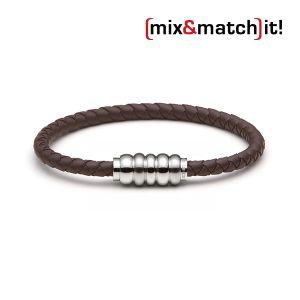 (mix&match)it! Armband, Silikon, braun Bild 1