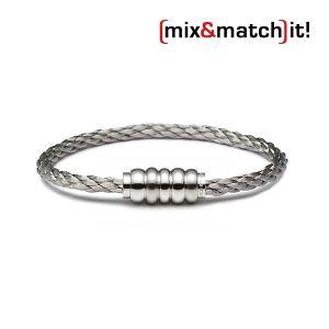 (mix&match)it! Armband, Edelstahl Bild 1