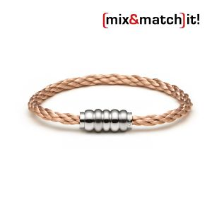 (mix&match)it! Armband, Edelstahl,  rosegold Bild 1