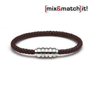 (mix&match)it! Armband, Leder, braun Bild 1