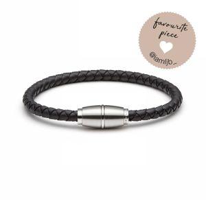 (mix&match)it! Armband, Silikon, schwarz Bild 1