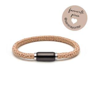 (mix&match)it! Armband, Leder, beige Bild 1