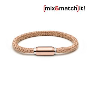 (mix&match)it! Armband, Leder, beige Bild 1