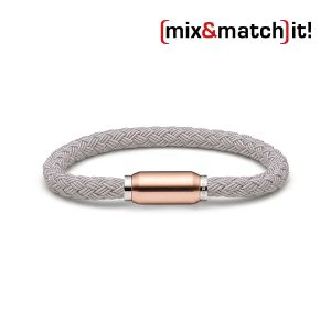 (mix&match)it! Armband, Textil, grau Bild 1