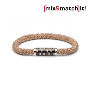 (mix&match)it! Armband, Textil, beige Bild 1