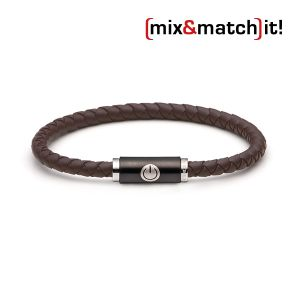 (mix&match)it! Armband, Silikon, braun Bild 1