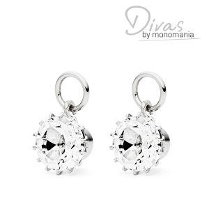 """Divas Anhänger """"Mariah - bright white"""" Bild 1"""